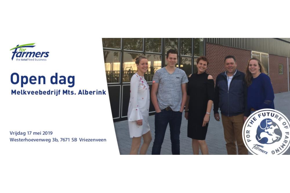 17 mei Open dag bij familie Alberink in Vriezenveen