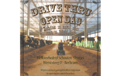 18 april 2021 Drive Thru bij Familie Schouten in Berlicum